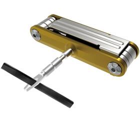 Topeak Tubi-Tool Mini Multiutensile, oro/argento